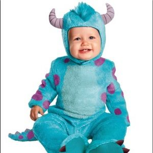 Disguise Monstera Inc. Sulley Infant Costume 2T